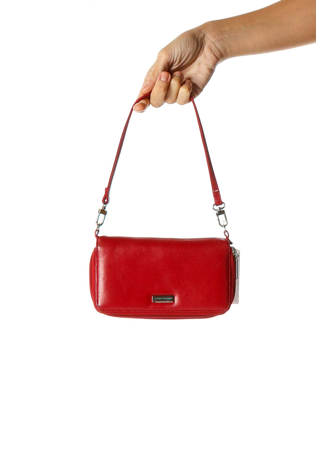 Red Wallet Bag Front