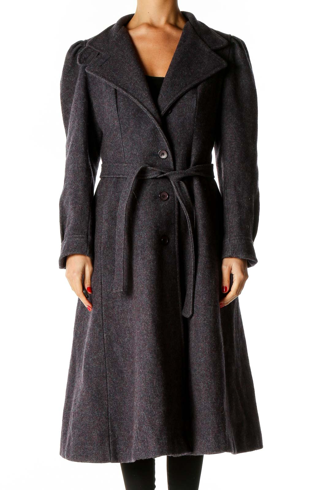 Purple Overcoat Front