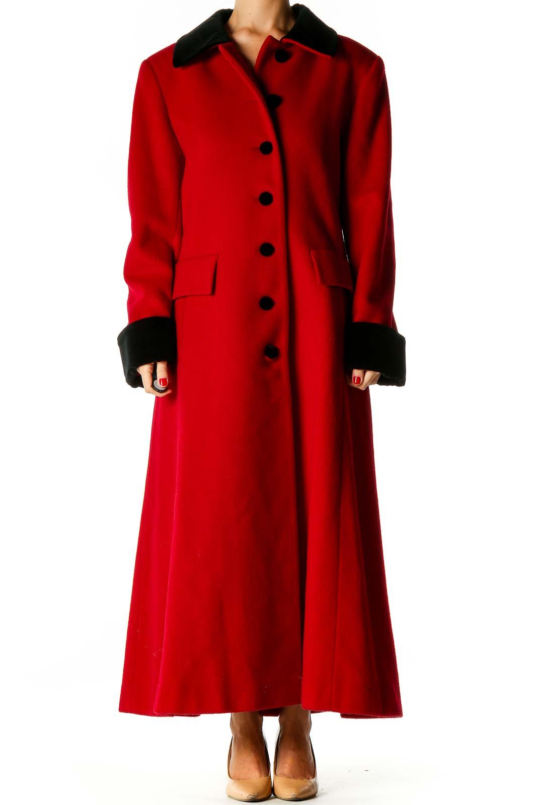 Red Overcoat Front