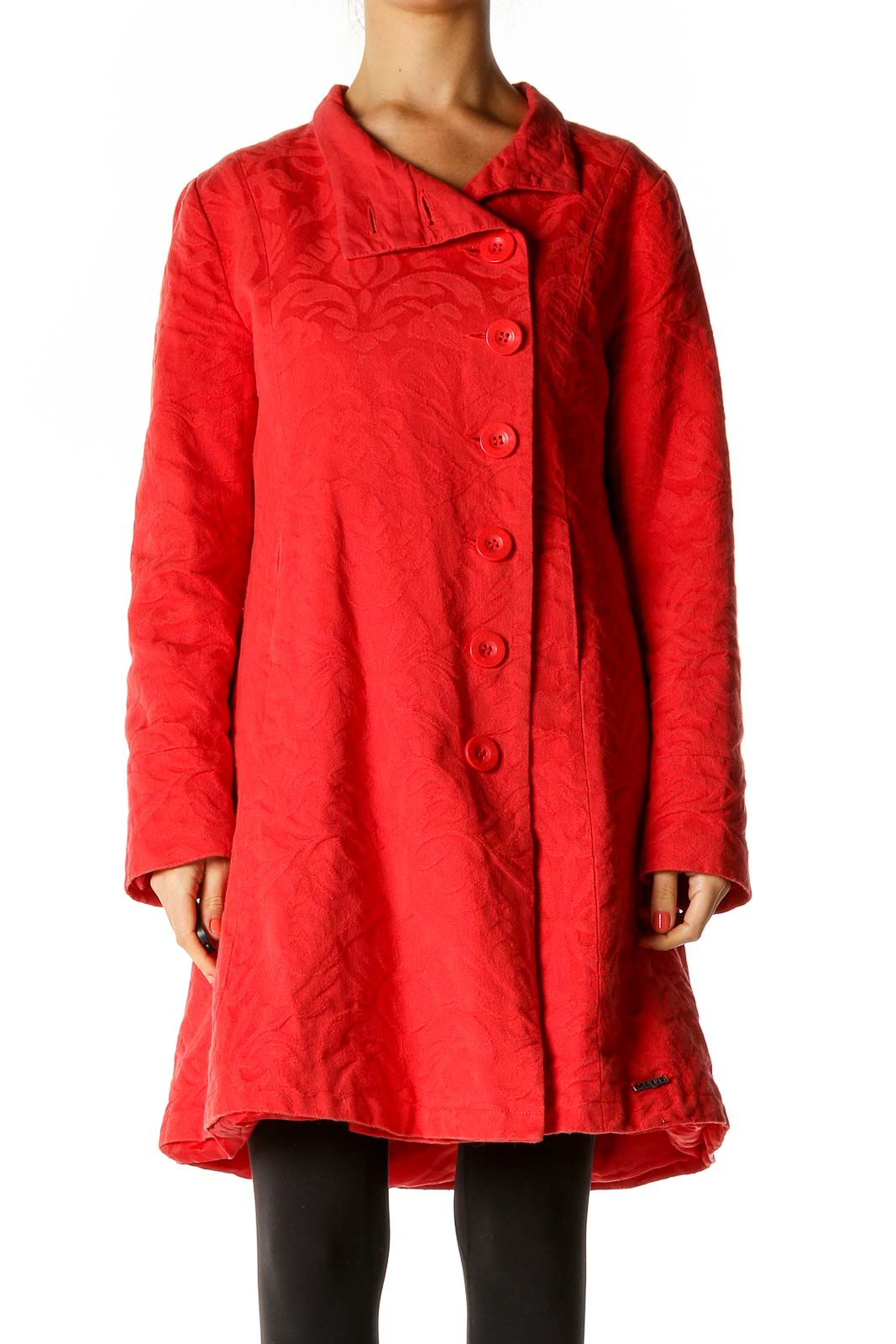 Red Coat Front