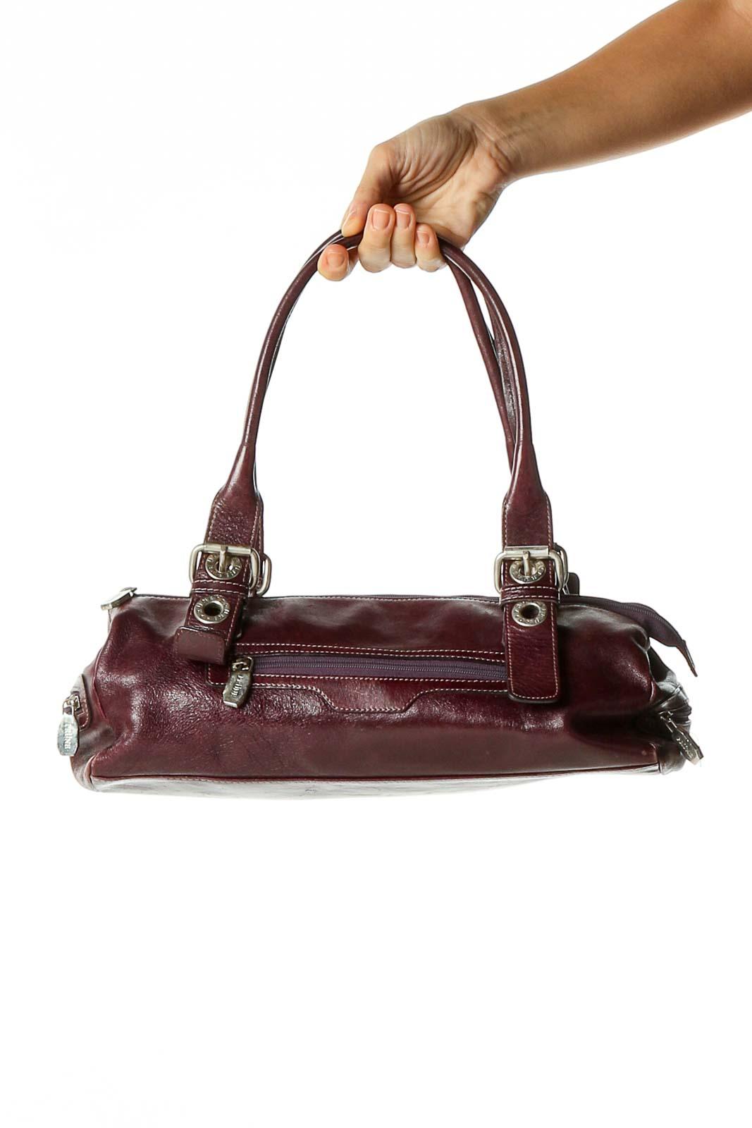 Purple Shoulder Bag Front