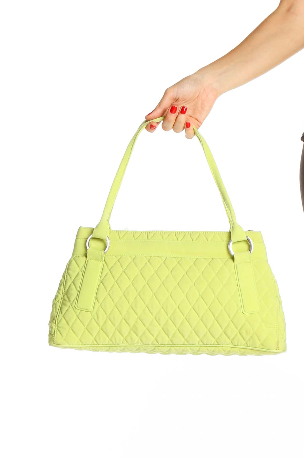 Green Shoulder Bag Front