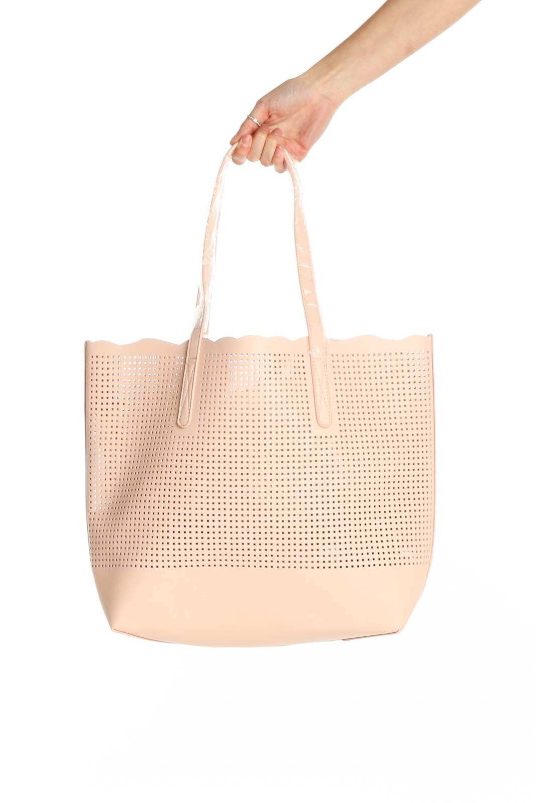Pink Tote Bag Front