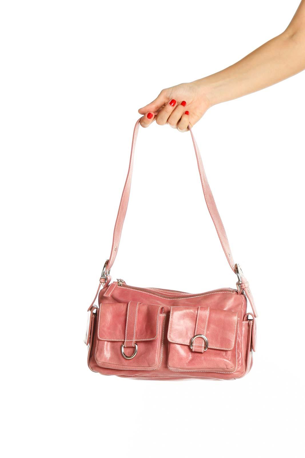 Pink Shoulder Bag Front