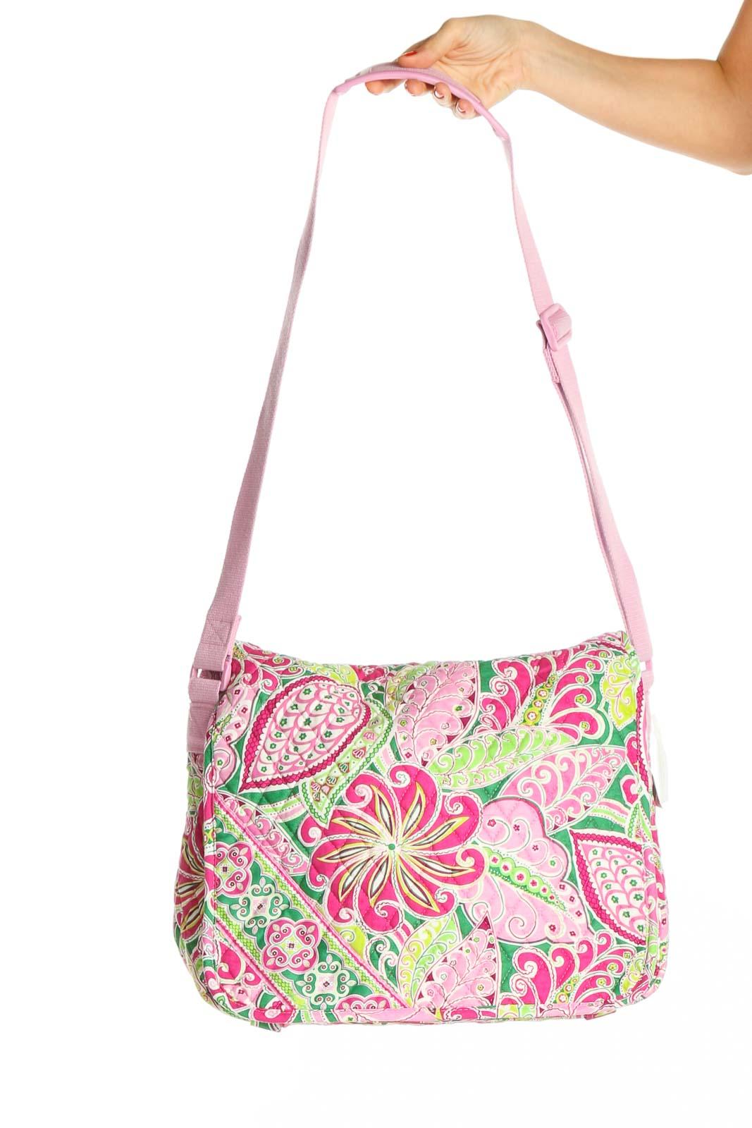 Pink Messenger Bag Front