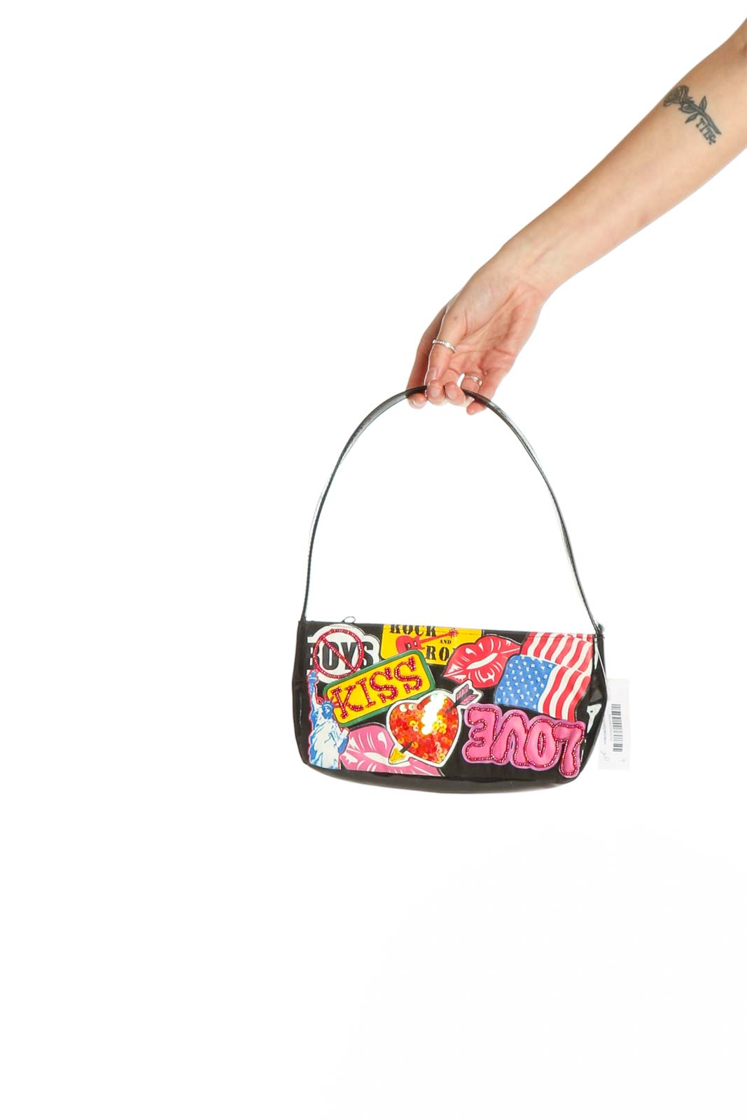 Multicolor Shoulder Bag Front