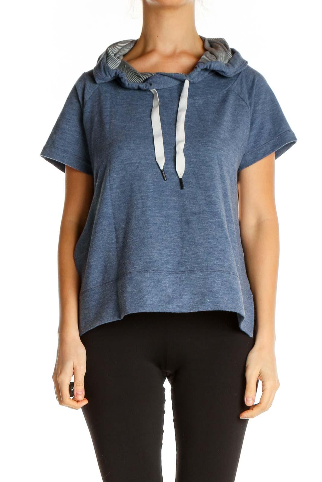 Blue Sweatshirt Front