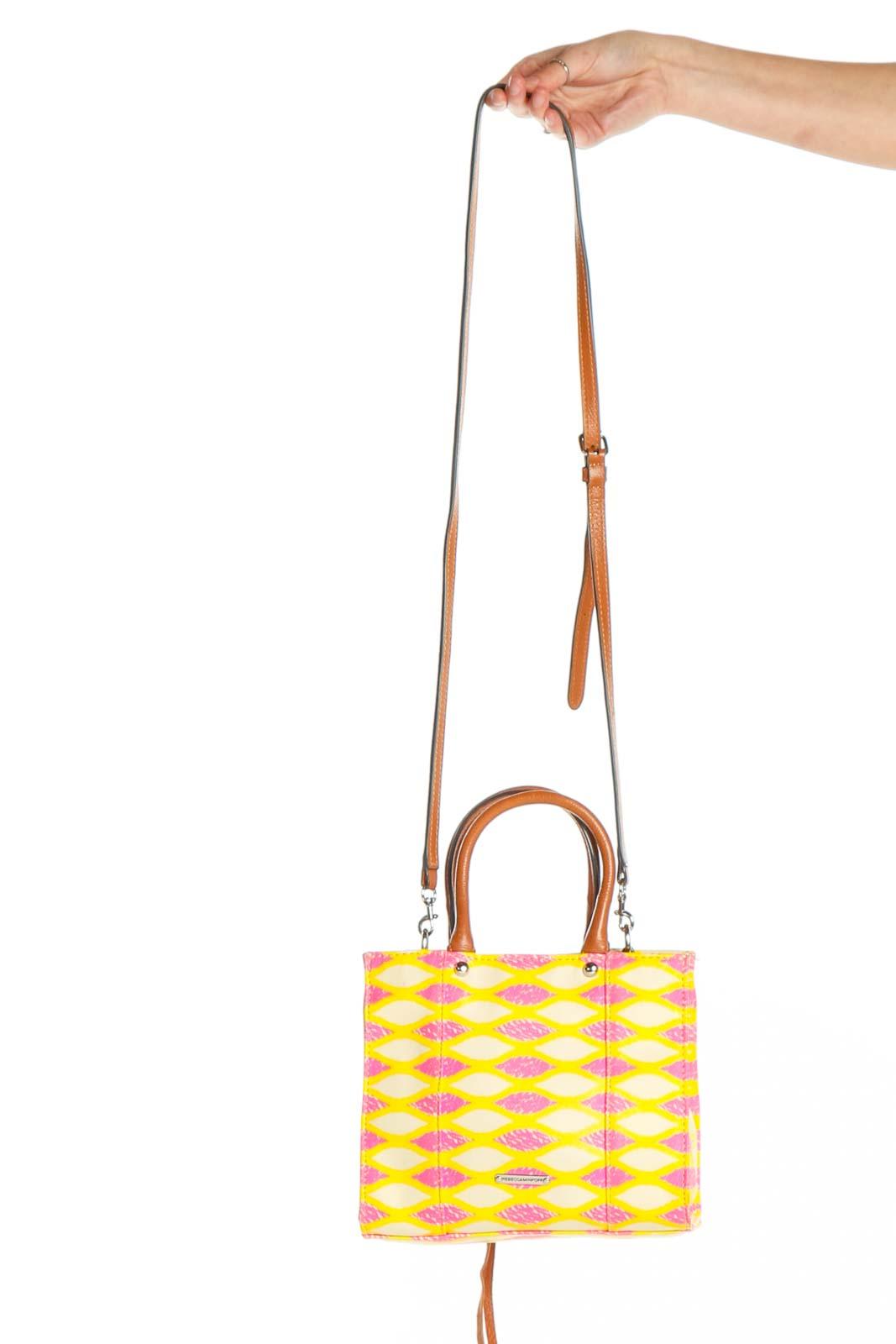 Yellow Crossbody Bag Front