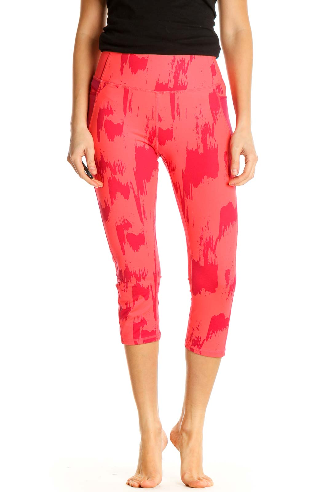 Pink Activewear Leggings Front