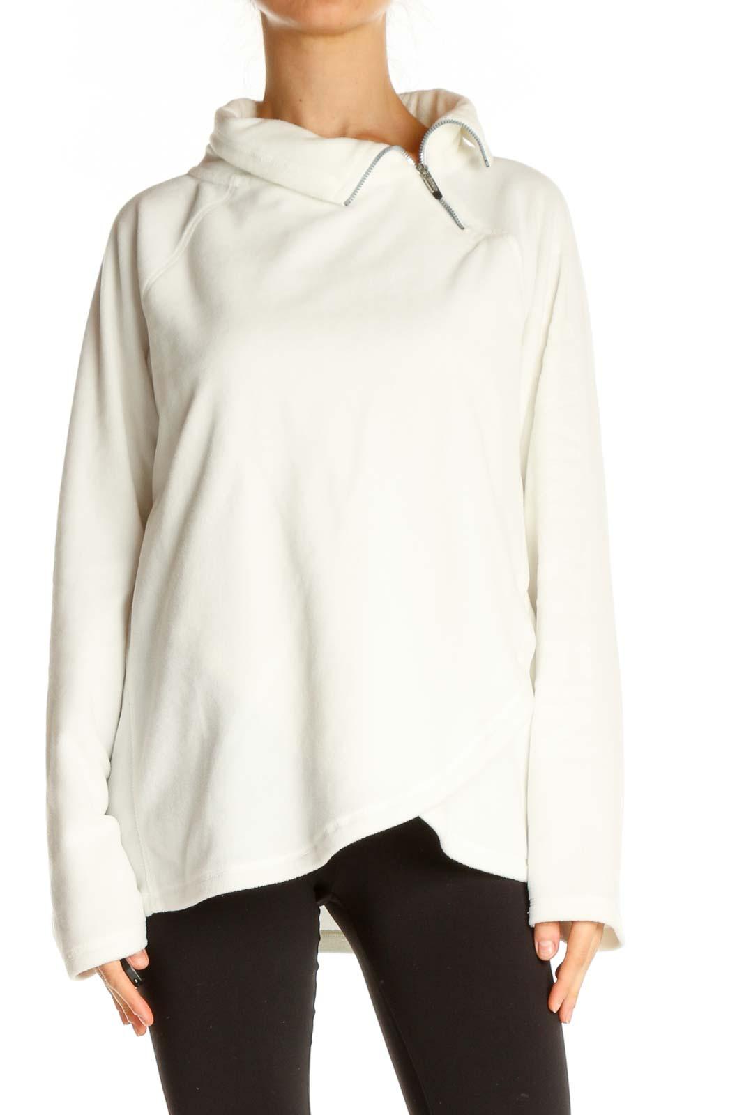 White Sweatshirt Front