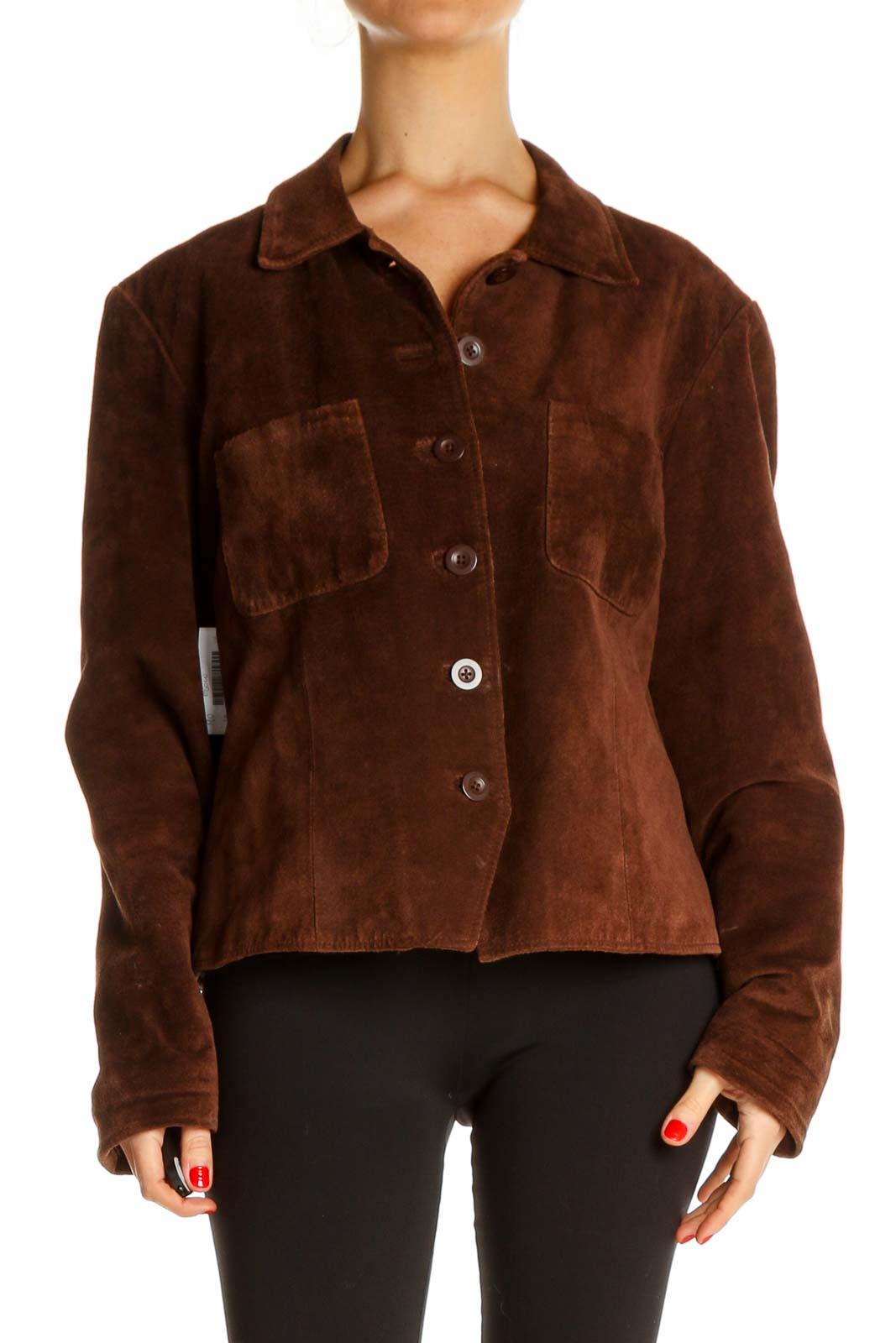Brown Jacket Front