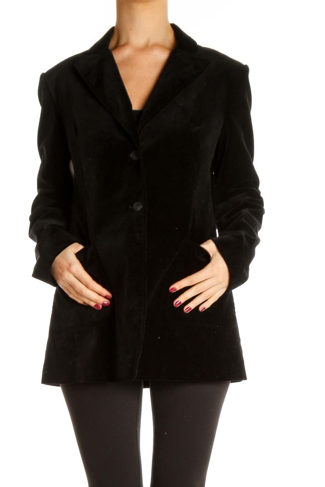 Black Blazer Front