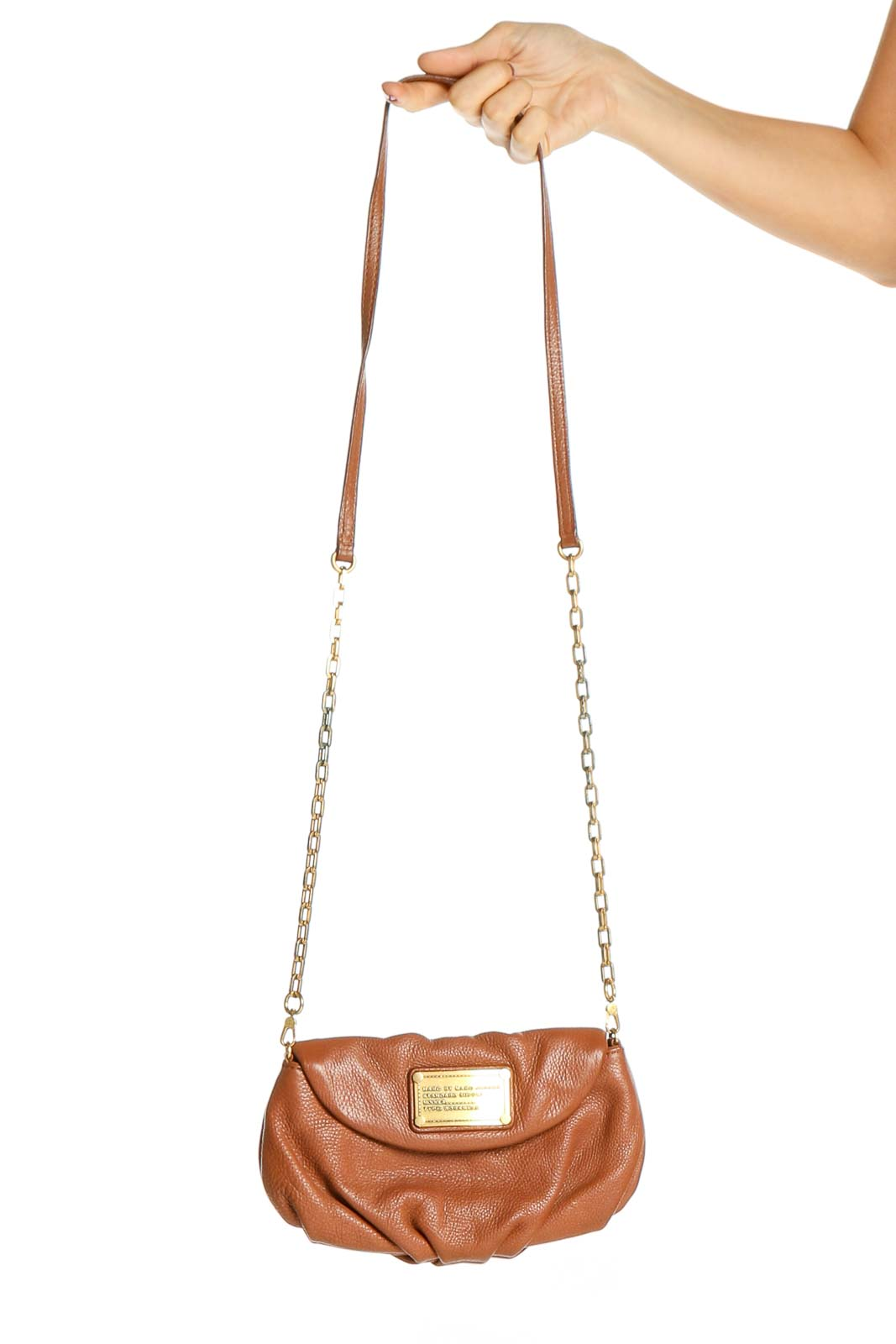 Brown Crossbody Bag Front