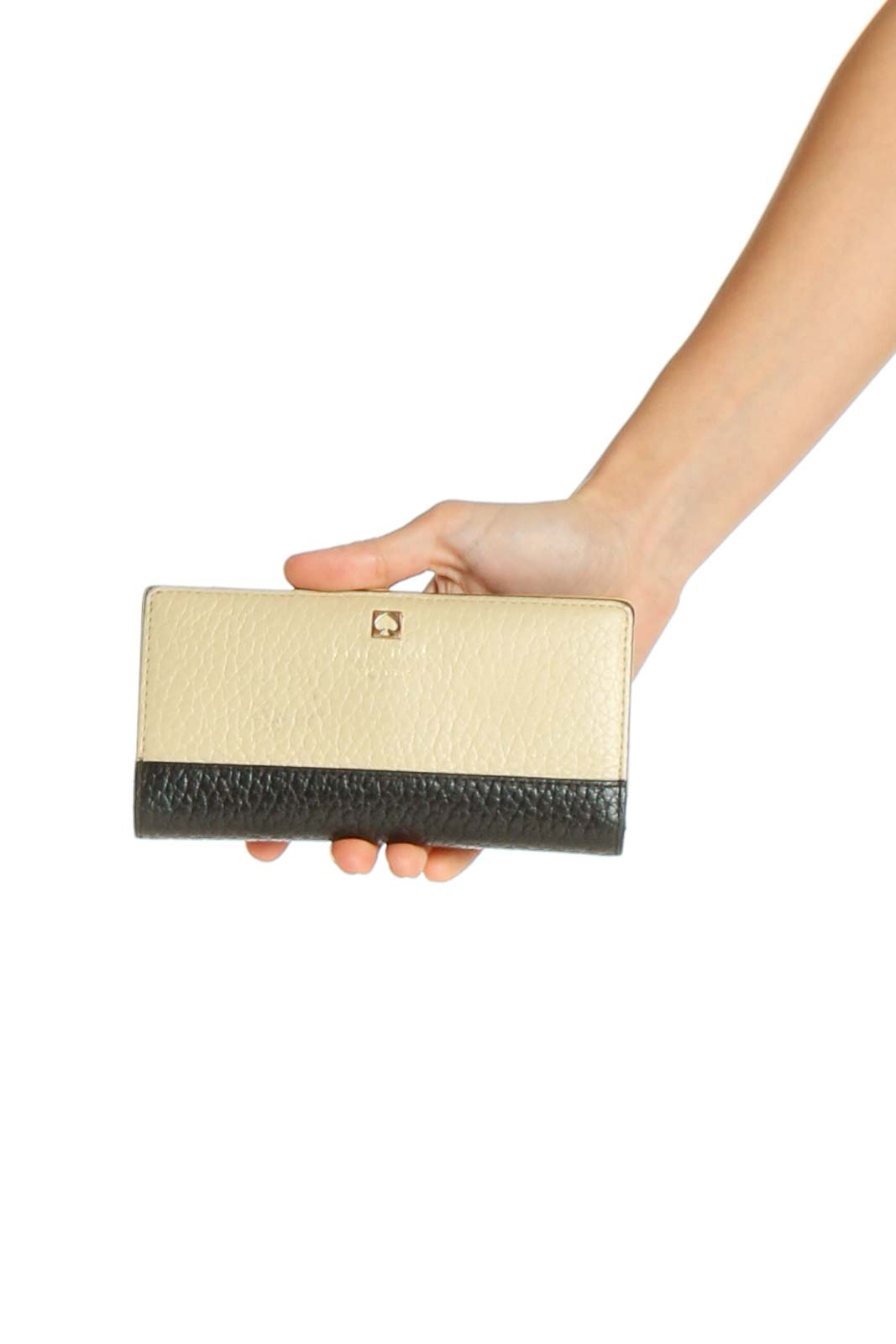 Beige Wallet Bag Front