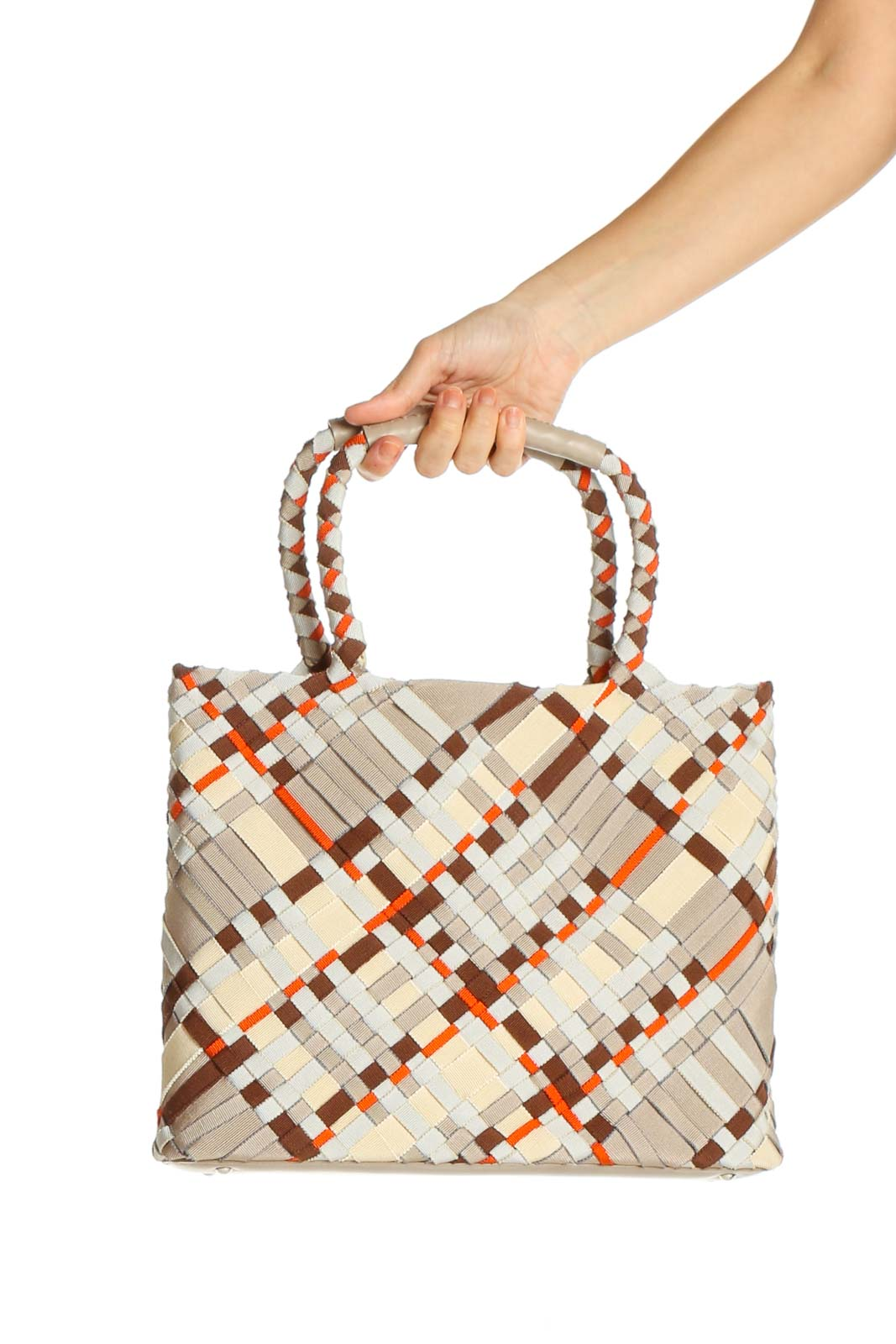 Multicolor Tote Bag Front