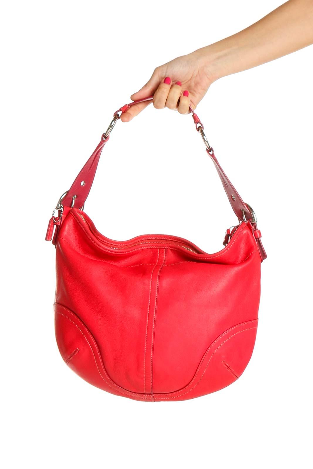 Red Shoulder Bag Front
