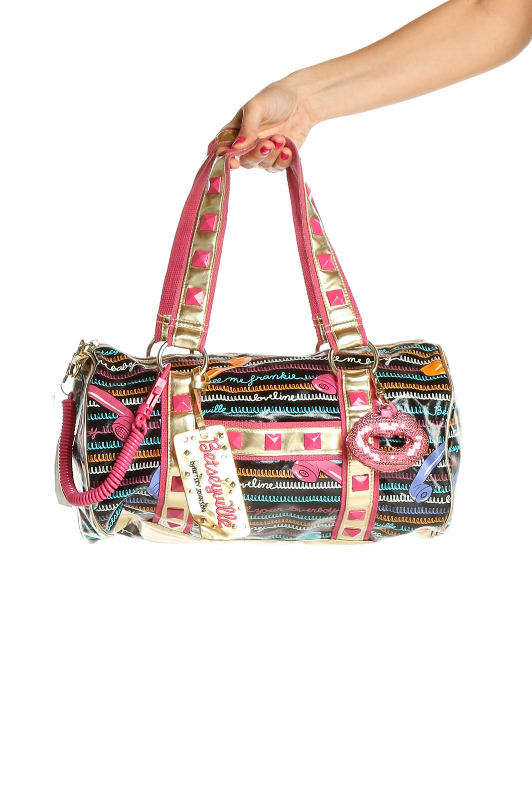 Multicolor Duffle Bag Front