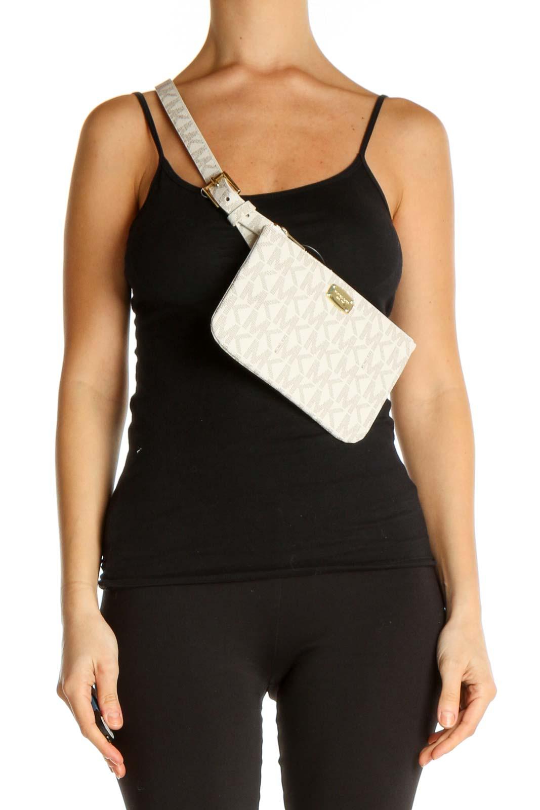 Beige Bag Front
