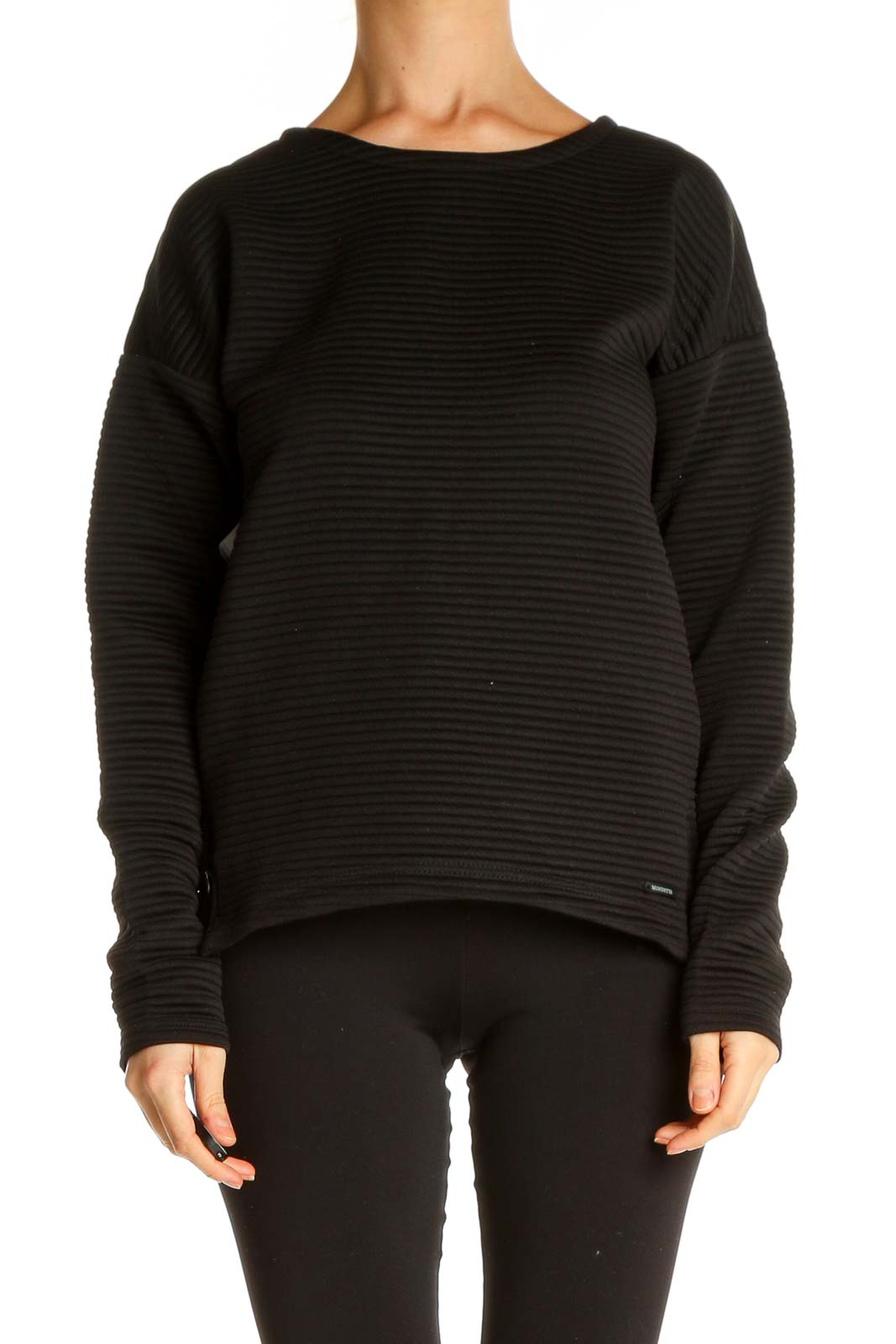 Black Sweatshirt Front