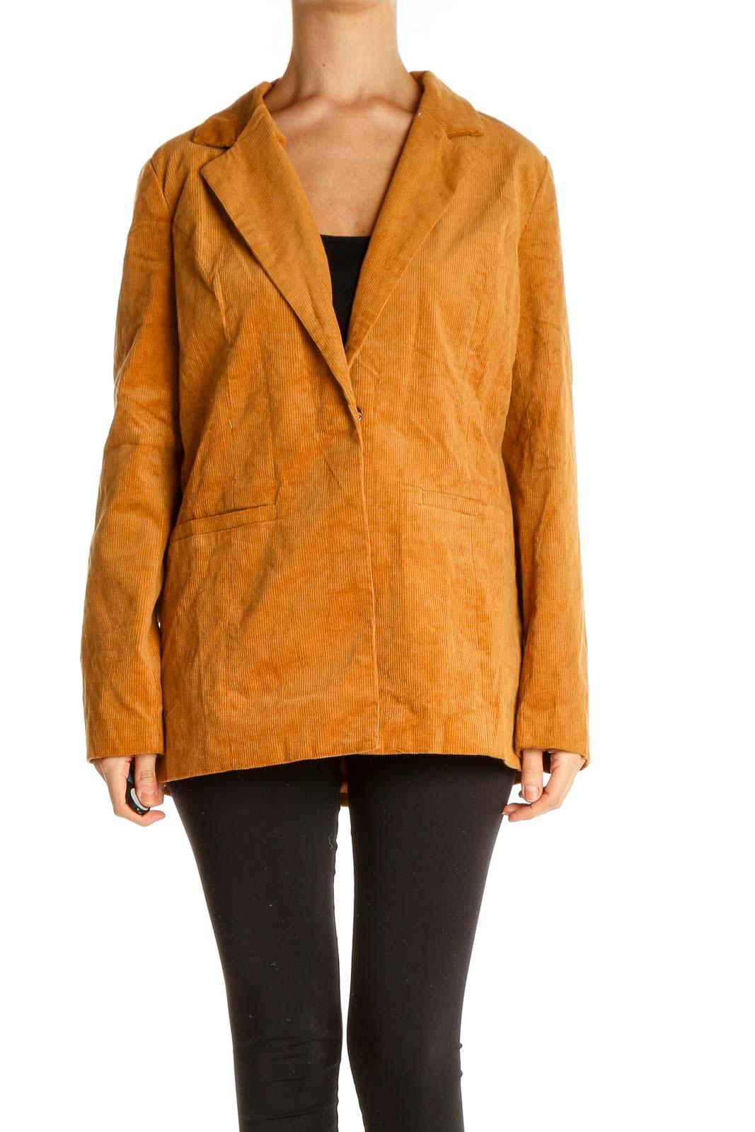 Orange Jacket Front