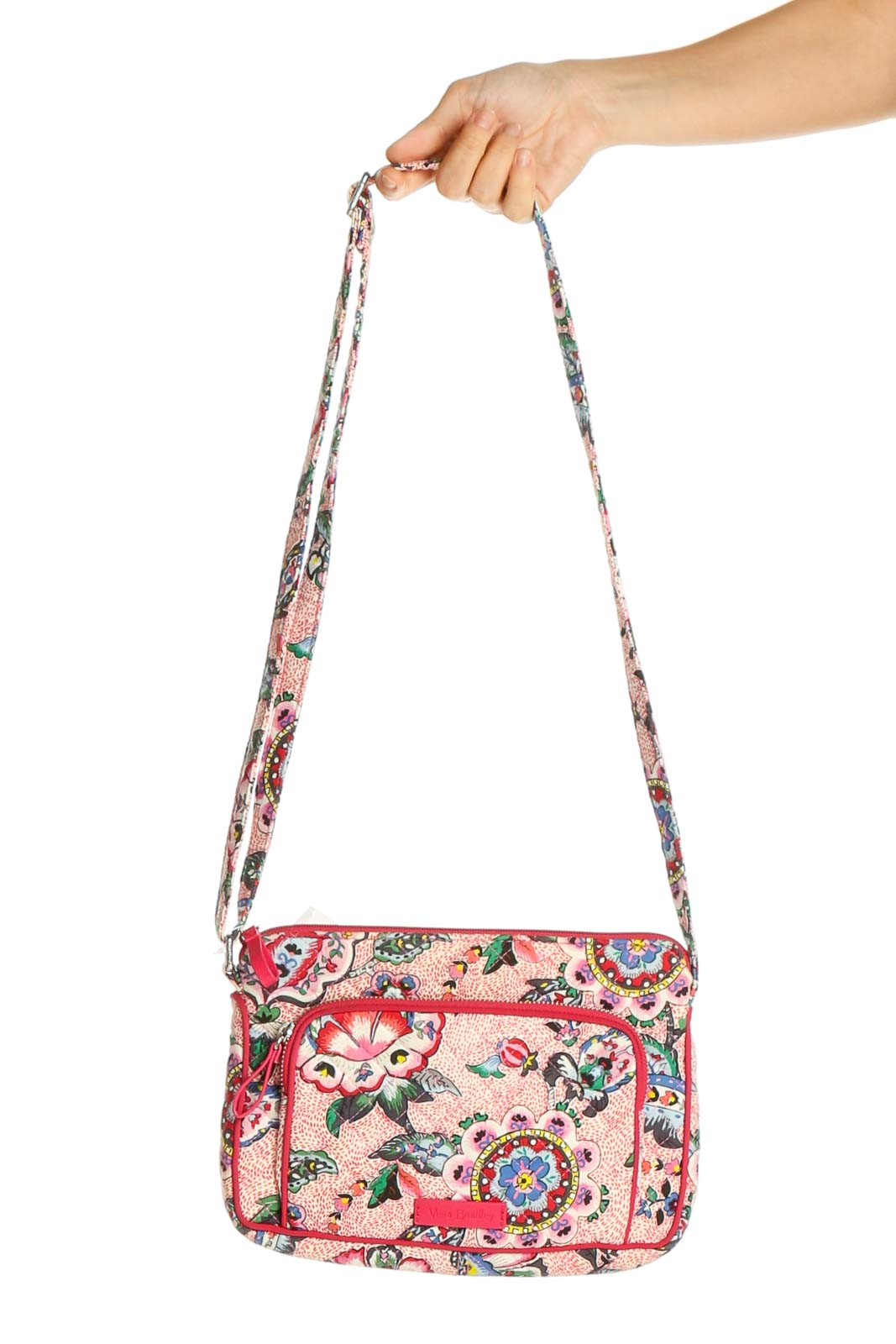 Pink Crossbody Bag Front