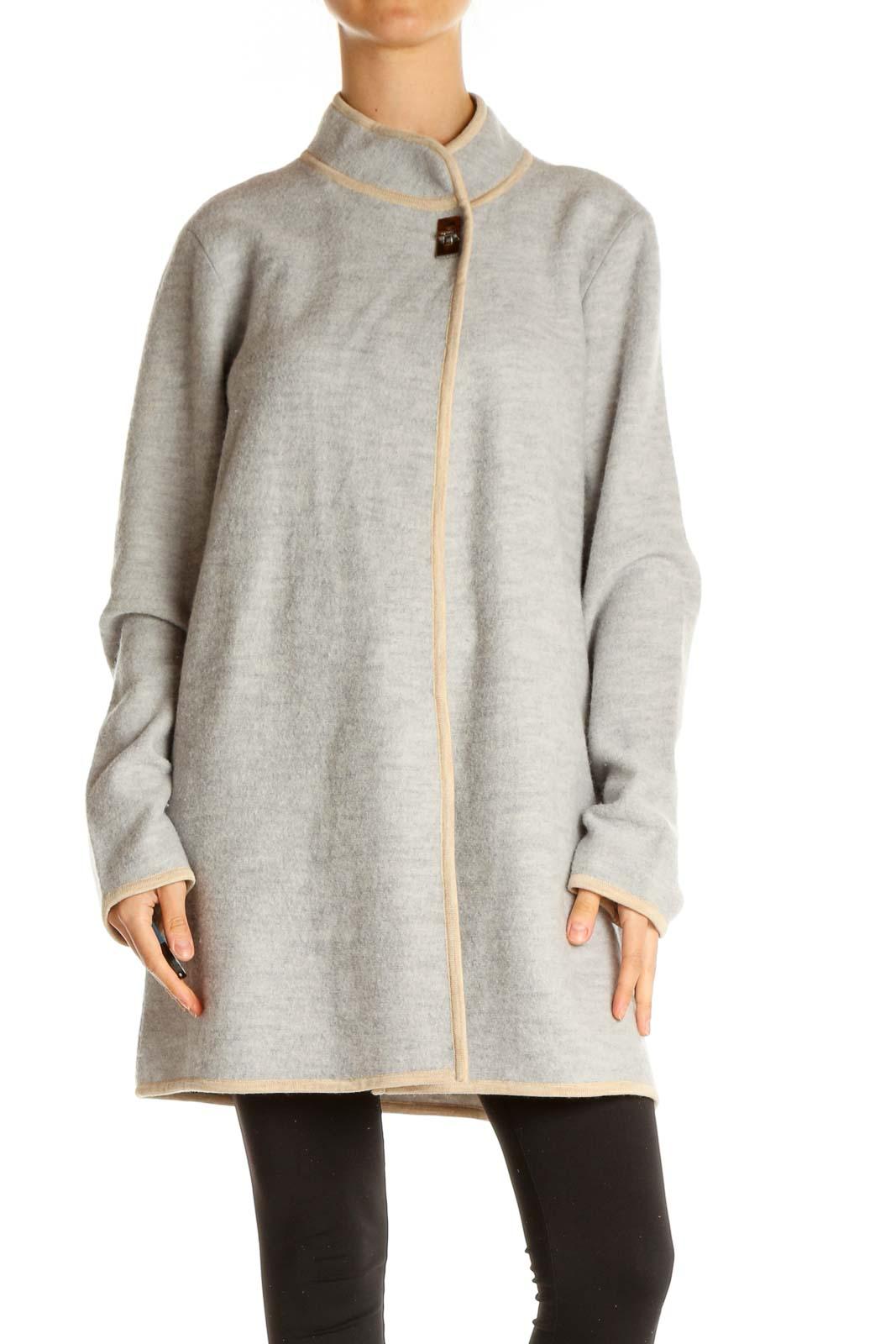 Gray Coat Front