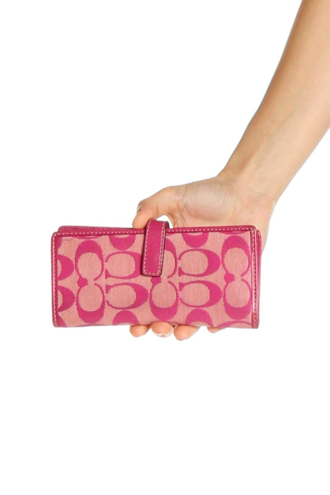 Pink Wallet Bag Front