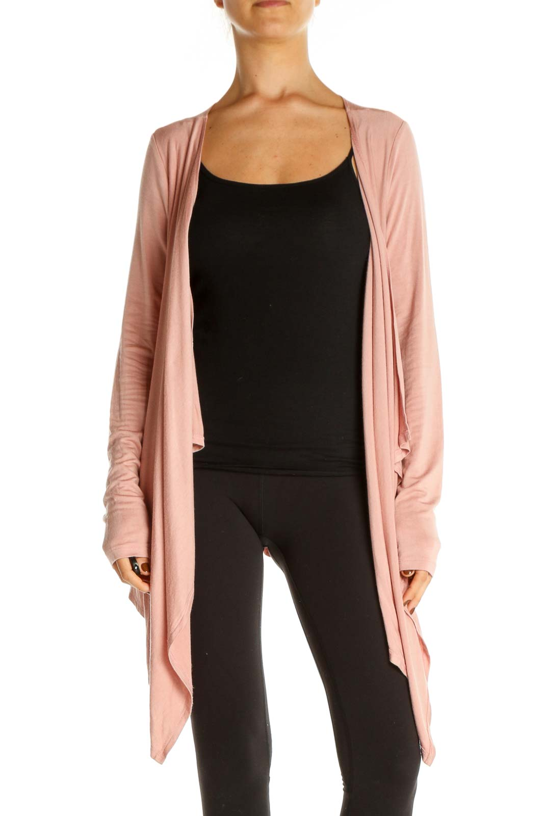 Pink Cardigan Front
