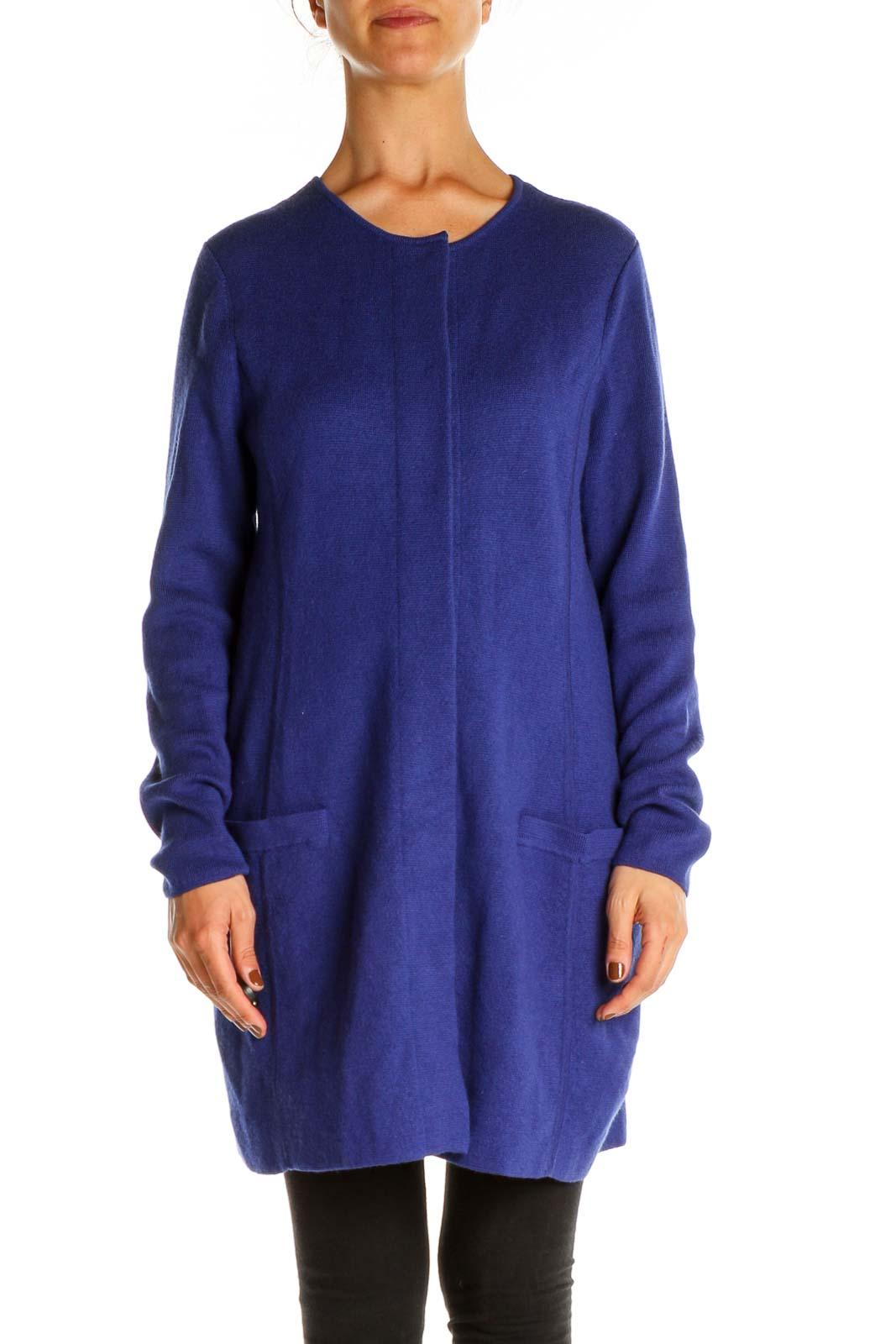 Blue Overcoat Front