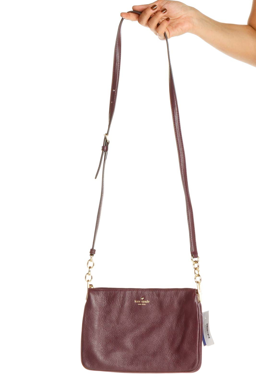 Purple Crossbody Bag Front