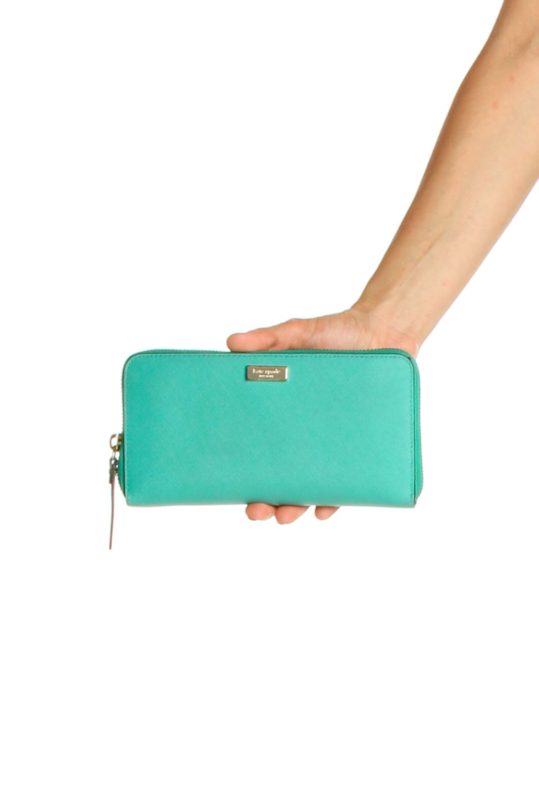 Blue Clutch Bag Front