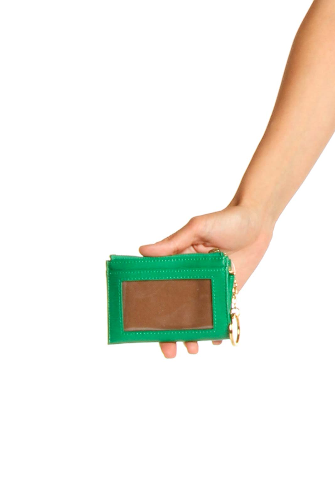 Green Clutch Front