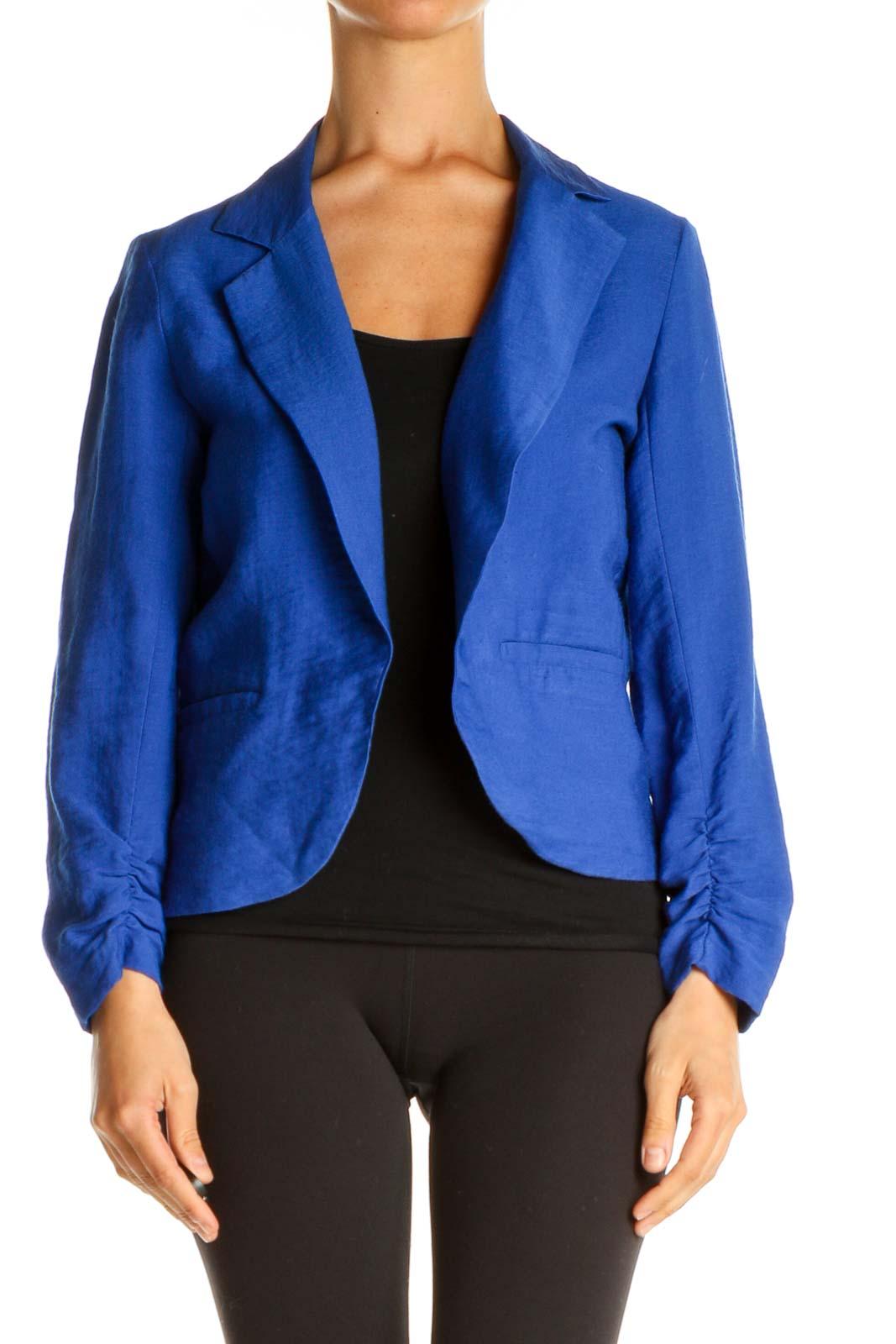 Blue Blazer Front