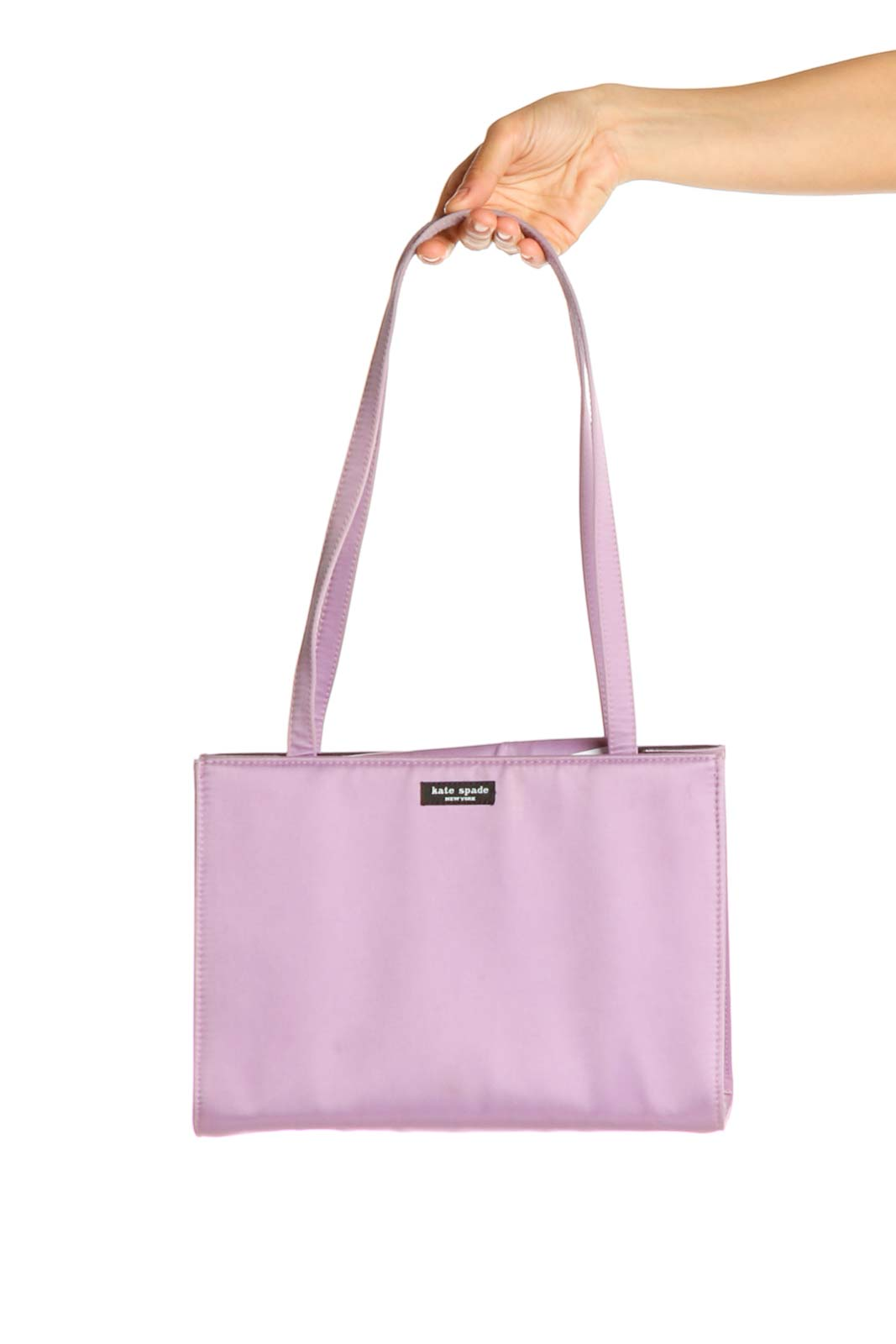 Purple Shoulder Bag Front