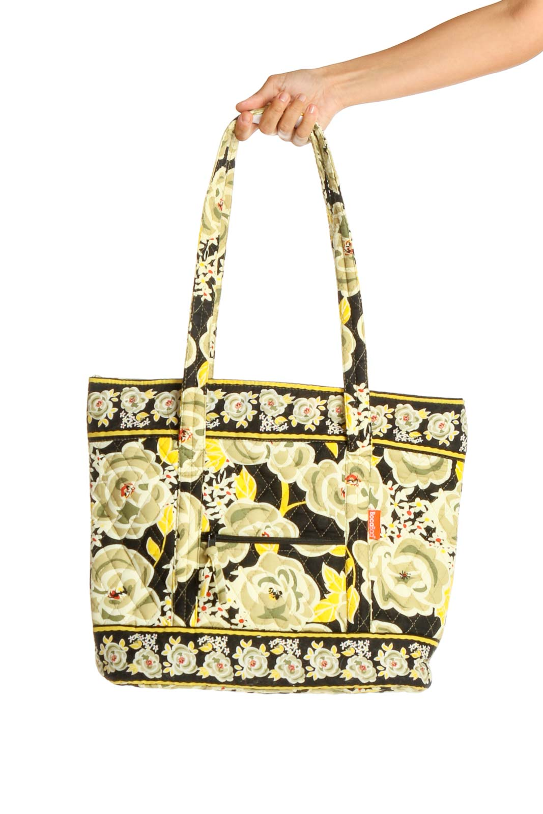 Yellow Tote Bag Front
