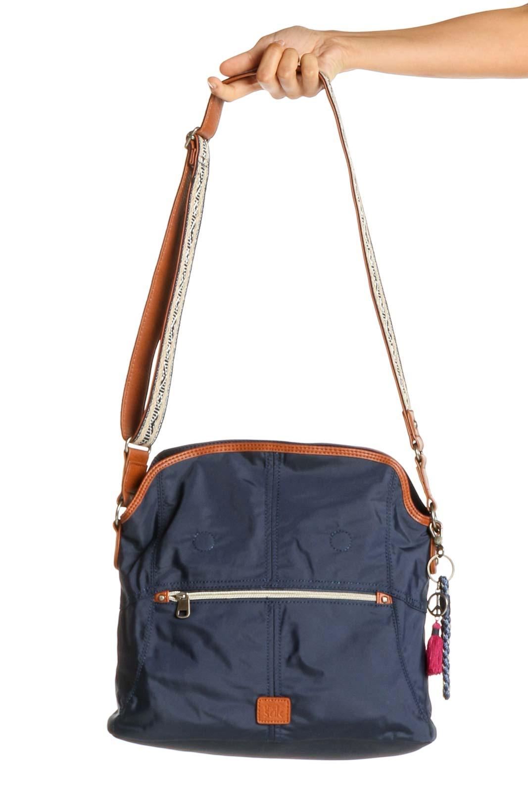 Blue Crossbody Bag Front