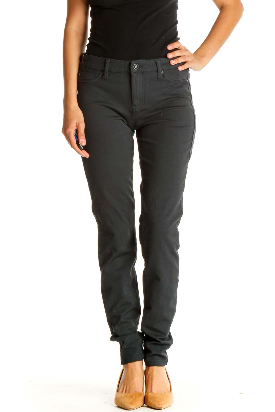 Blue Pants Front