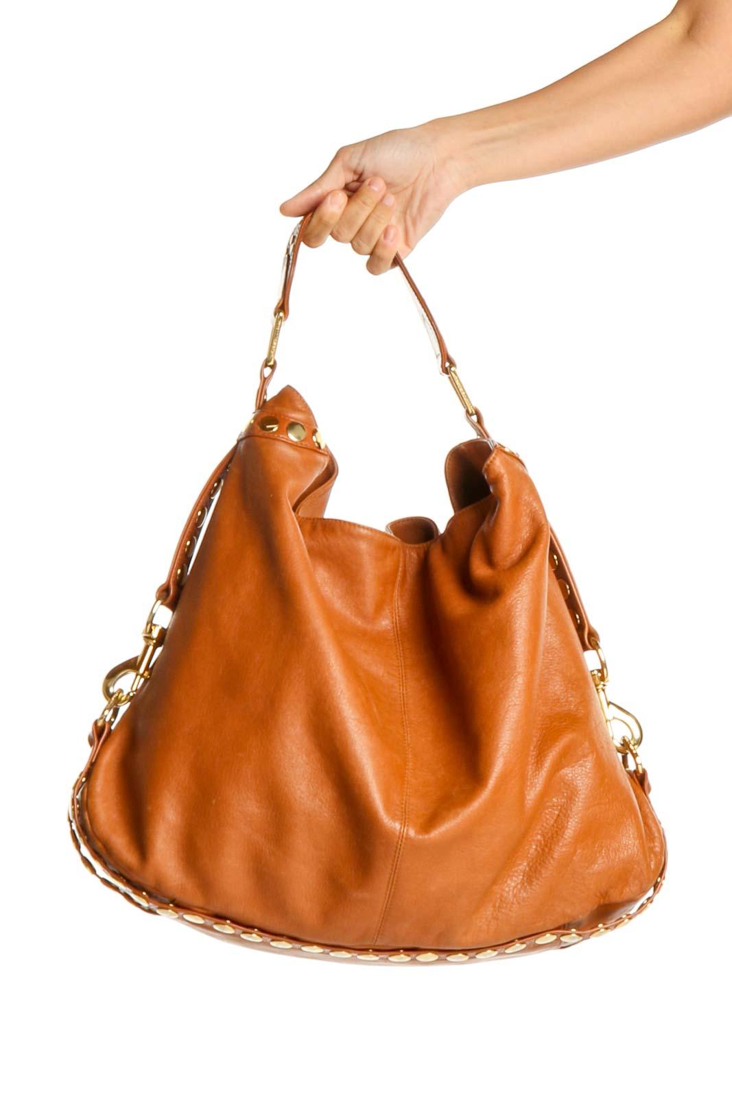 Brown Hobo Bag Front