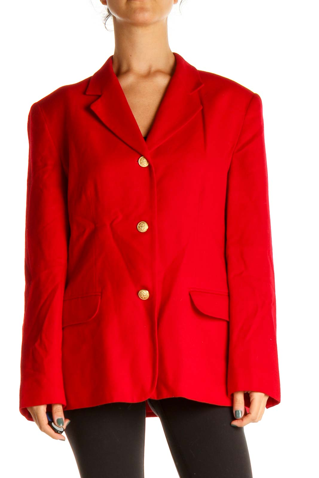 Red Jacket Front