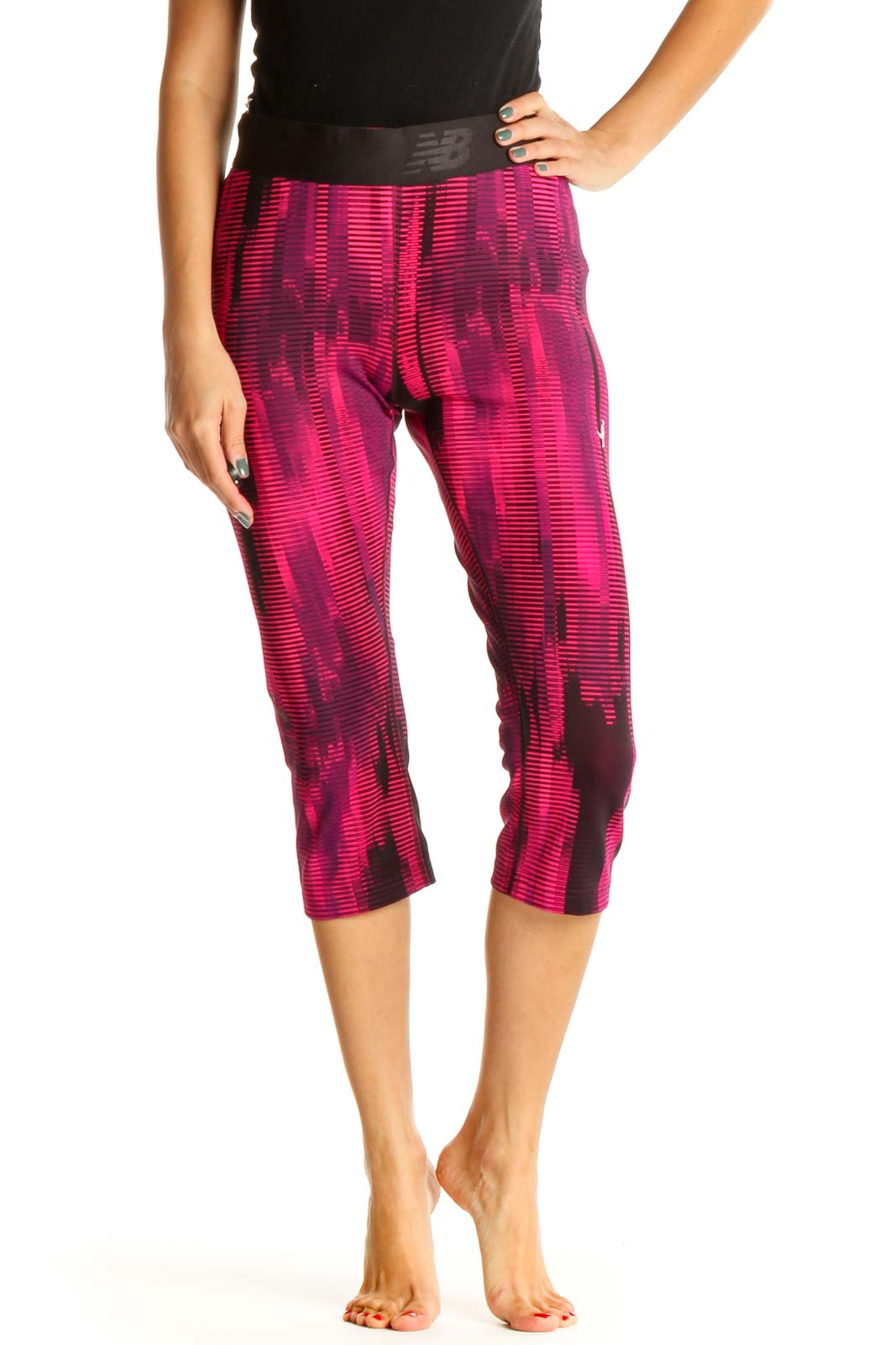 Pink Activewear Leggings Front