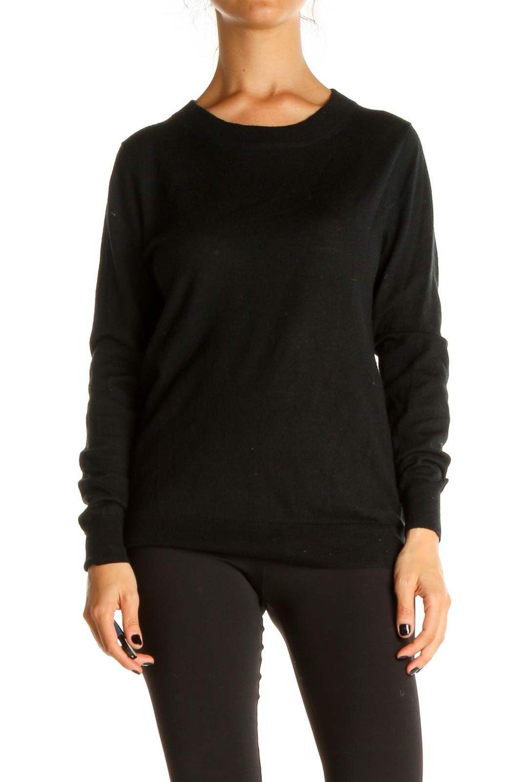 Black Sweatshirt Front