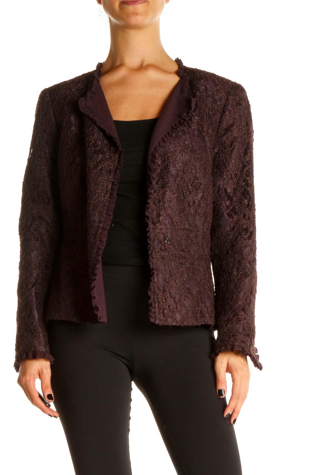 Purple Jacket Front