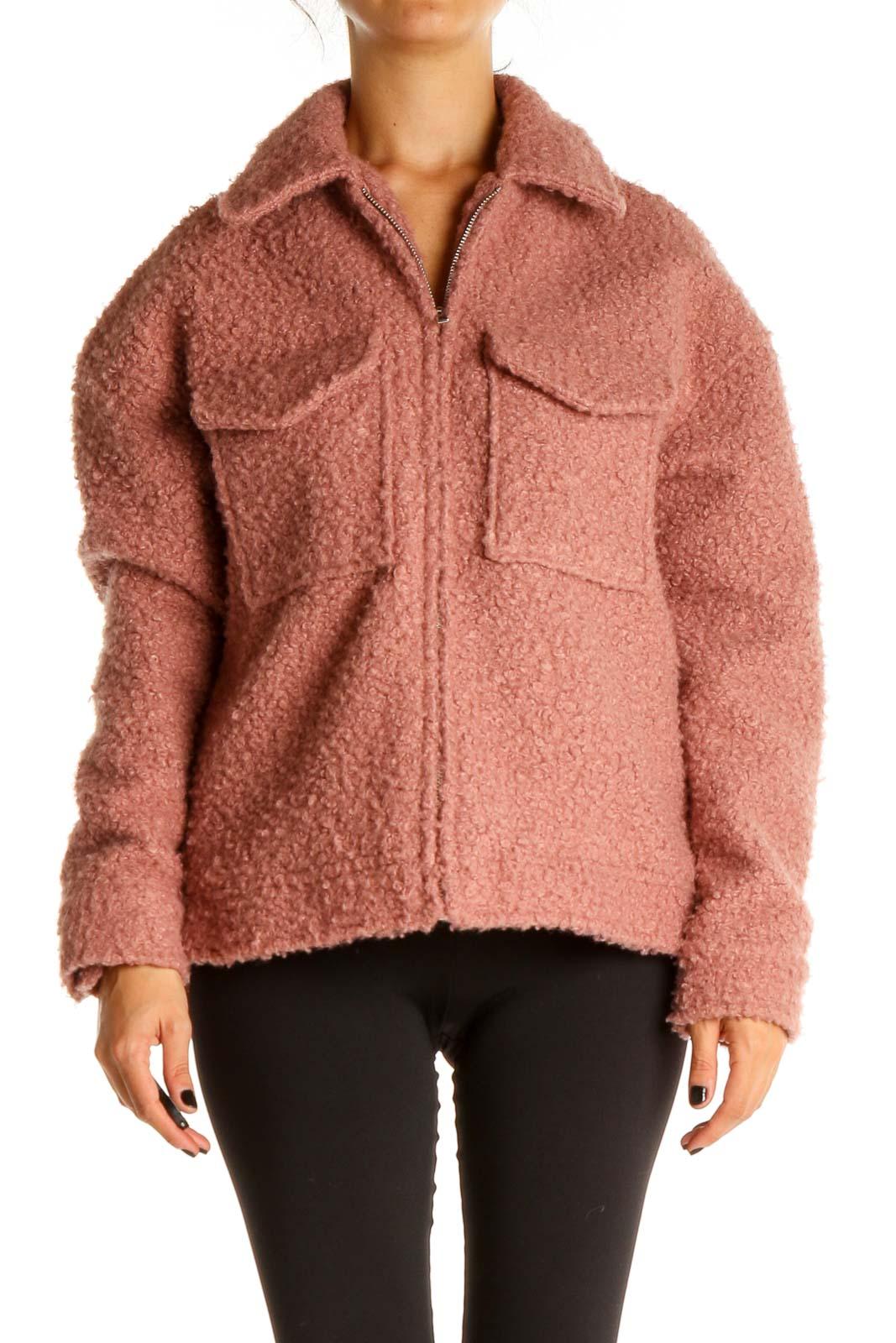 Pink Jacket Front
