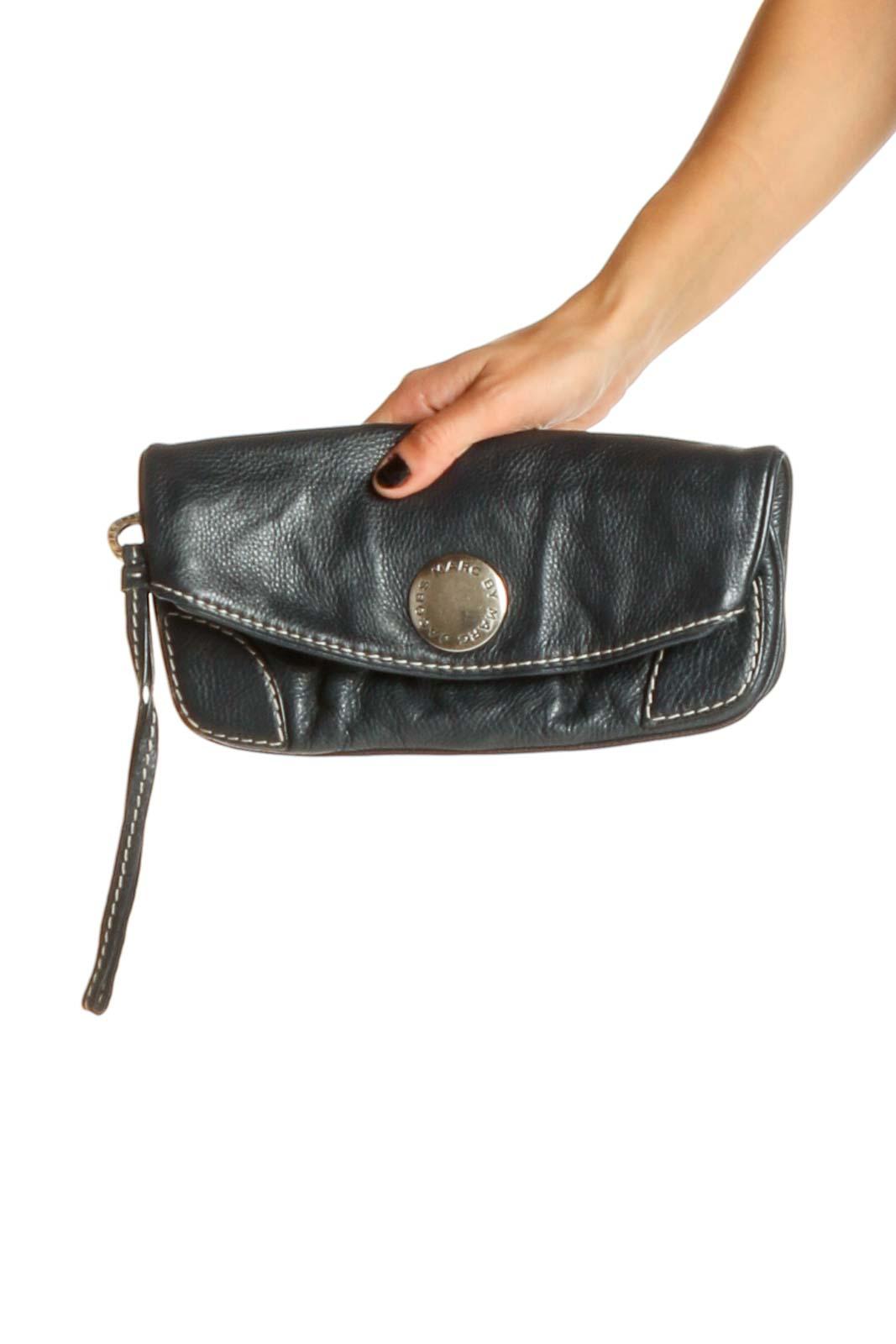 Black Clutch Bag Front