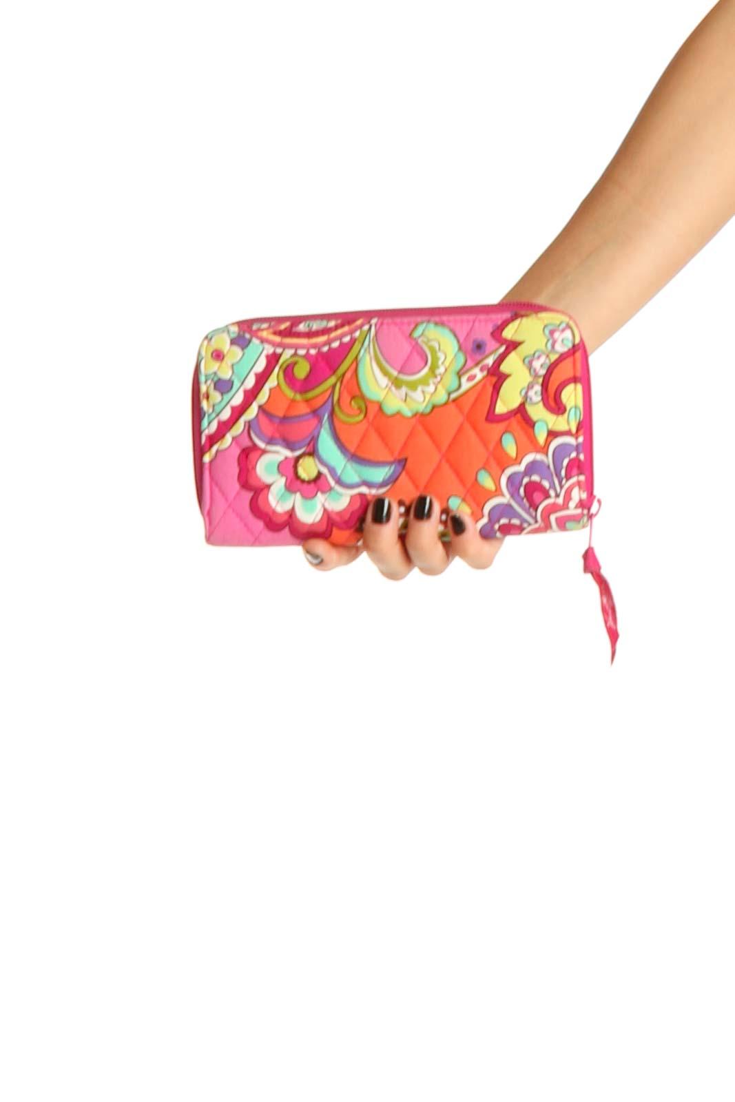 Orange Clutch Bag Front