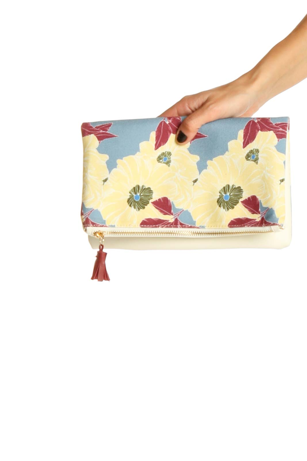 Yellow Clutch Bag Front