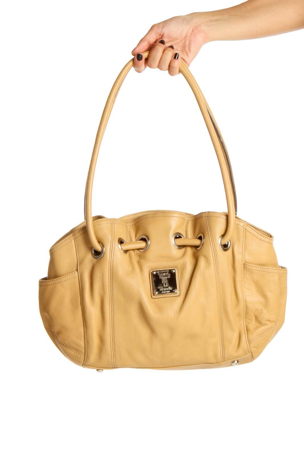 Yellow Shoulder Bag Front