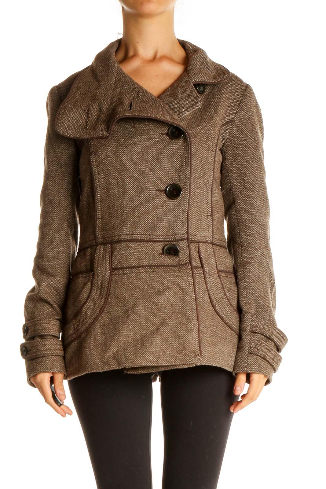 Brown Jacket Front