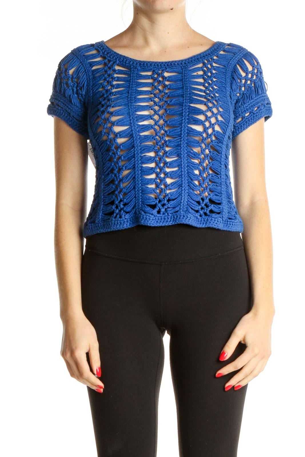 Blue Bohemian T-Shirt Front