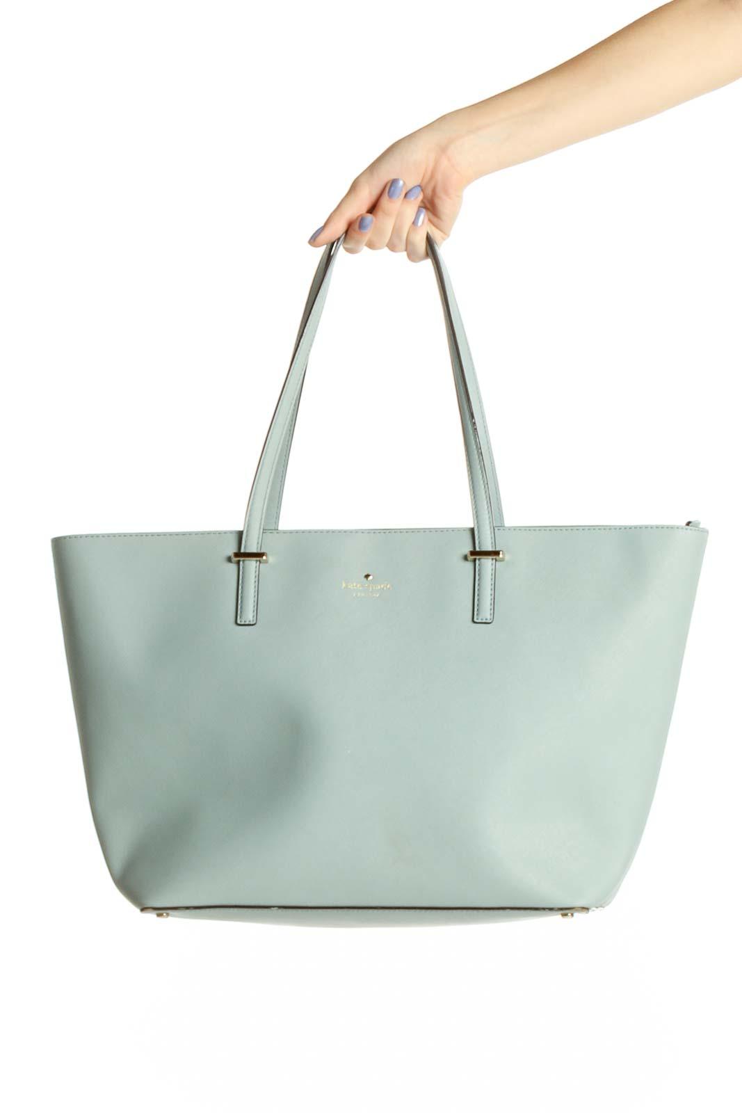Blue Tote Bag Front